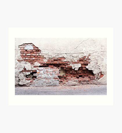 Broken Wall II Art Print