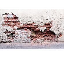 Broken Wall II Photographic Print