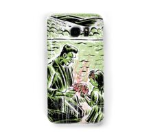 Frankenstein Boris Karloff girl flower classic picture show movie film hollywood famous monster of filmland Samsung Galaxy Case/Skin