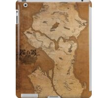 Fantasy Map of Seattle: Gritty Parchment iPad Case/Skin