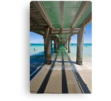 Under the Jetty Metal Print