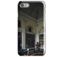 Library Harewood House 1759 1771 West Yorkshire England 19840603 0009 iPhone Case/Skin