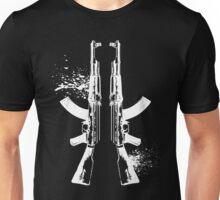AKs in White Unisex T-Shirt