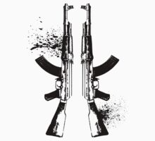 AKs in Black by Beau Tobler