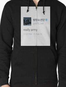 bts really army T-Shirt