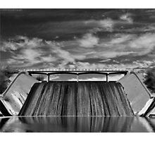 Well, Dam Photographic Print
