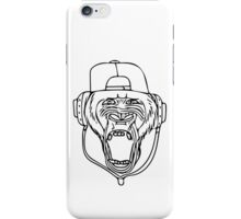 G-rilla version 3. (no logo , linework only iPhone Case/Skin