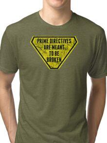 The Prime Directive Tri-blend T-Shirt