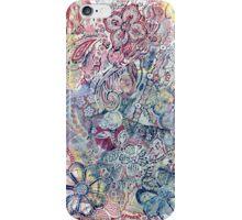 Flowers 22 Aussie Tangled Acrylic Monoprint iPhone Case/Skin