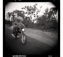 Motohat Photographic Print