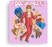 Doctor Powers Canvas Print