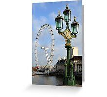 London EyeLight Greeting Card
