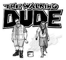 The Walking Dude Photographic Print