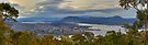Looking over Hobart by Gethin