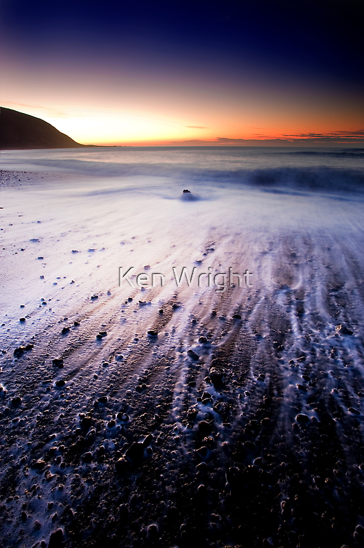 Dawn light cleanses the remains of Mordor by Ken Wright
