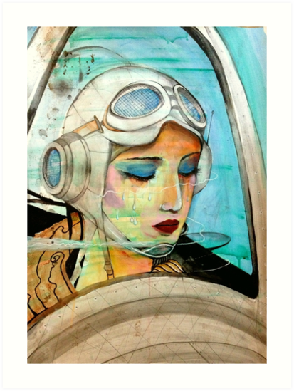 The Pilot Of Your Dreams  by John Dicandia ( JinnDoW )