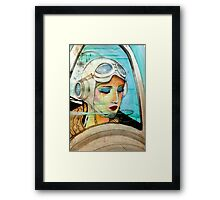 The Pilot Of Your Dreams  Framed Print