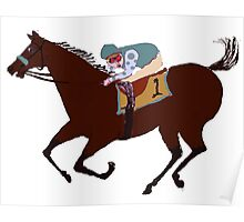 The Racehorse - Horse Racing Apparel & Gifts Poster