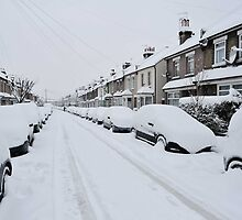 Snow In South London by John Hooton