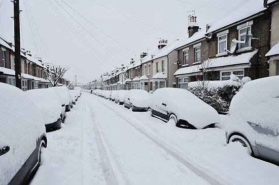 Snow In South London by John Hooton