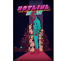Hotline Miami Jackets Slaughter  Photographic Print