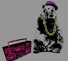 Wild Style Bear by GraphXninja