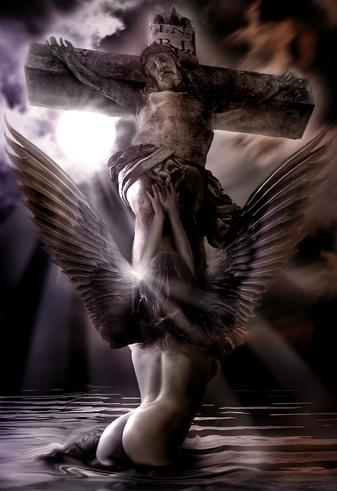 My Angel Gabriel by Cliff Vestergaard