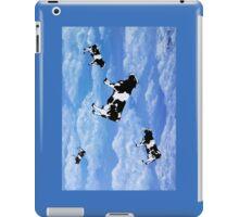 Falling Cows iPad Case/Skin