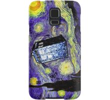 The Tardis in the Starry Night Samsung Galaxy Case/Skin