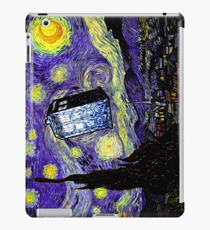The Tardis in the Starry Night iPad Case/Skin