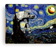 Starry Night versus the Empire Canvas Print