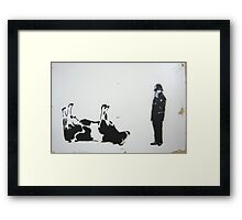 The Cow Framed Print
