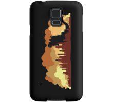 Godzilla versus King Kong cityscape Samsung Galaxy Case/Skin