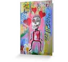 Untitled (love) Greeting Card