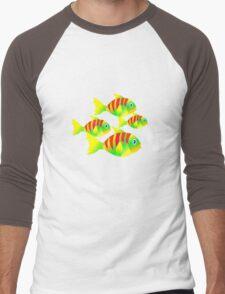 SOMETHING FISHY'S GOIN' ON AROUND HERE Men's Baseball ¾ T-Shirt