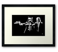 "Darth Vader - Say ""What"" Again! Version 1 Framed Print"