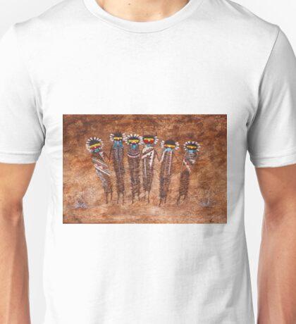 6 Kachinas Unisex T-Shirt