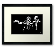 "Darth Vader - Say ""What"" Again! Version 2 Framed Print"