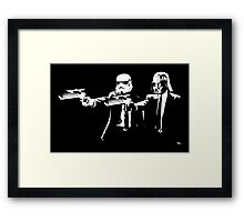 "Darth Vader - Say ""What"" Again! Version 3 Framed Print"