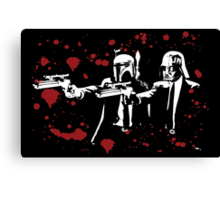 "Darth Vader - Say ""What"" Again! Version 1 (Blood Splatter) Canvas Print"