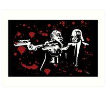 "Darth Vader - Say ""What"" Again! Version 2 (Blood Splatter) Art Print"