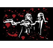 "Darth Vader - Say ""What"" Again! Version 2 (Blood Splatter) Photographic Print"