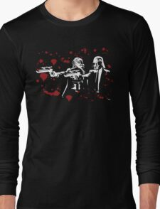 "Darth Vader - Say ""What"" Again! Version 2 (Blood Splatter) Long Sleeve T-Shirt"