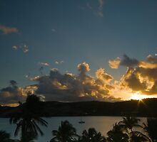 Carribean sunset by Nick Sladden