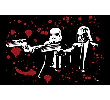 "Darth Vader - Say ""What"" Again! Version 3 (Blood Splatter) Photographic Print"