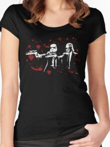 """Darth Vader - Say """"What"""" Again! Version 3 (Blood Splatter) Women's Fitted Scoop T-Shirt"""