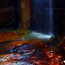 Kalamina Gorge Waterfall by Sheldon Pettit