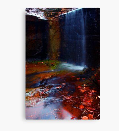 Kalamina Gorge Waterfall Canvas Print
