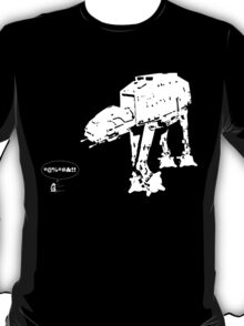 R2D2 - RUN! AT-AT Version T-Shirt