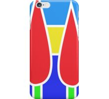 JeffreysBay.com logo, white border, no text iPhone Case/Skin